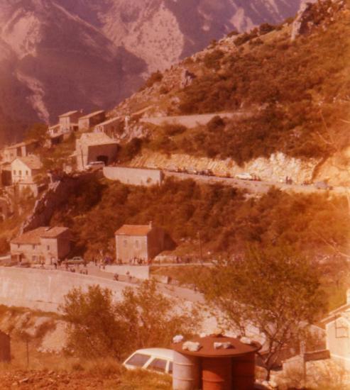 1977 concentration à Brantes