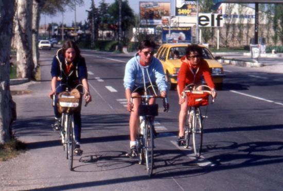 1982 04 10 arrivée à Orange MLuce Nicole Monique