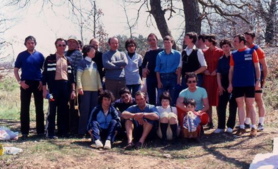 1982 04 11 après les 24H Vélocio concentration à Simiane