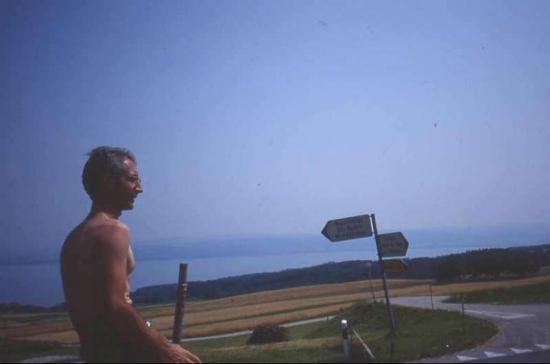 1992 07 29 au-dessus du lac de Neuchatel