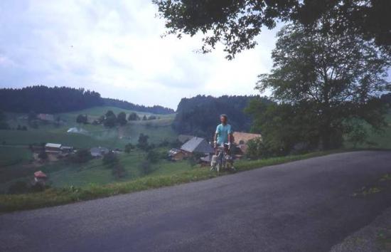1992 08 04 montée du col de Luegg