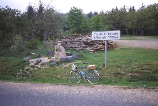 1993 05 06 le col de St Bonnet 660 m