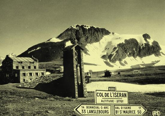 la chapelle du col de l'iseran 2770 m