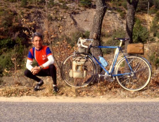 itinérant en Provence à Pâques en 1989