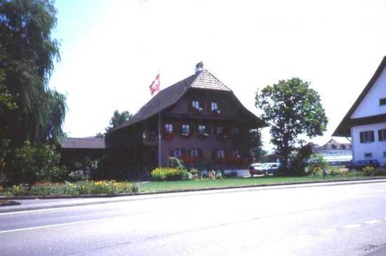 une ferme Suisse