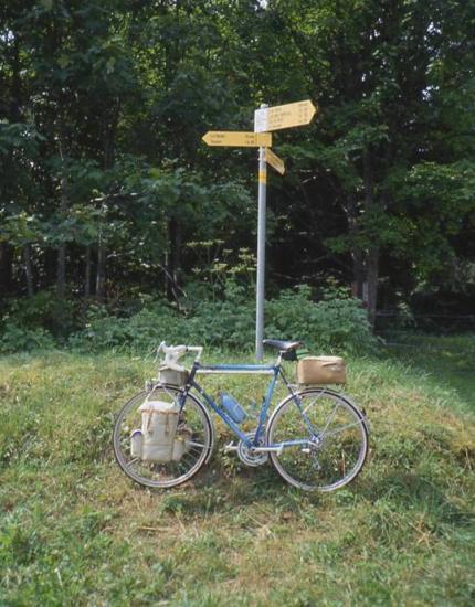 1992 un col muletier en Suisse