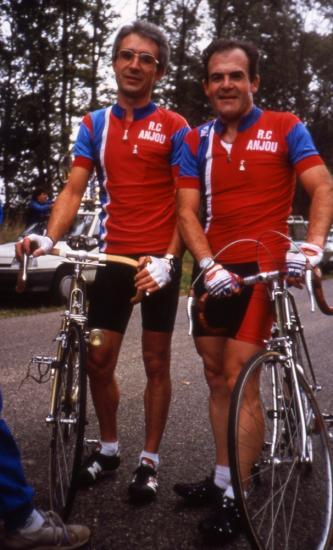 circuit de Monthléry en 1987 équipe Loïc et Jean-Claude