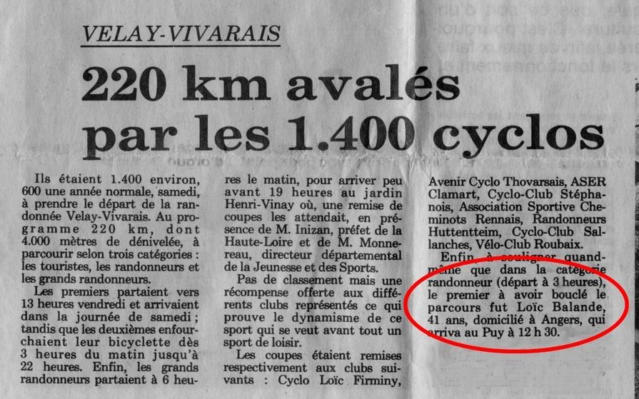 article de presse paru le 11 août 1991