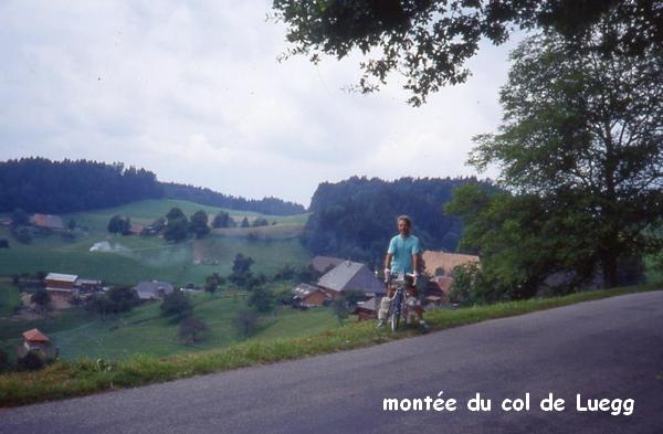 1992 juillet ao t voyage itin rant en suisse for Matelas bienne