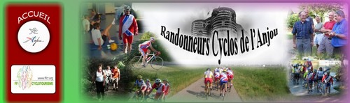 Randonneurs Cyclos de l'Anjou