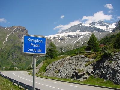 le col du Simplon est le 1er col à + de 2000 m de cette randonnée